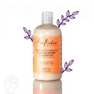 شامپو نارگیل و ختمی shea moisture ،محصولات موی فر، فرفری کلاب