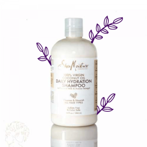 شامپو آبرسان روزانه نارگیل shea moisture،محصولات موی فر، فرفری کلاب