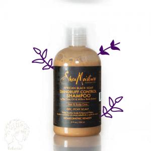 شامپو ضد شوره و اگزما صابون سیاه shea moisture