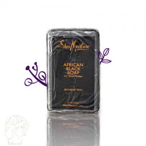 صابون سیاه آفریقایی با کره شی بزرگ shea moisture