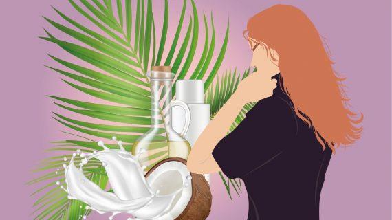 خواص روغن نارگیل برای مو و پوست